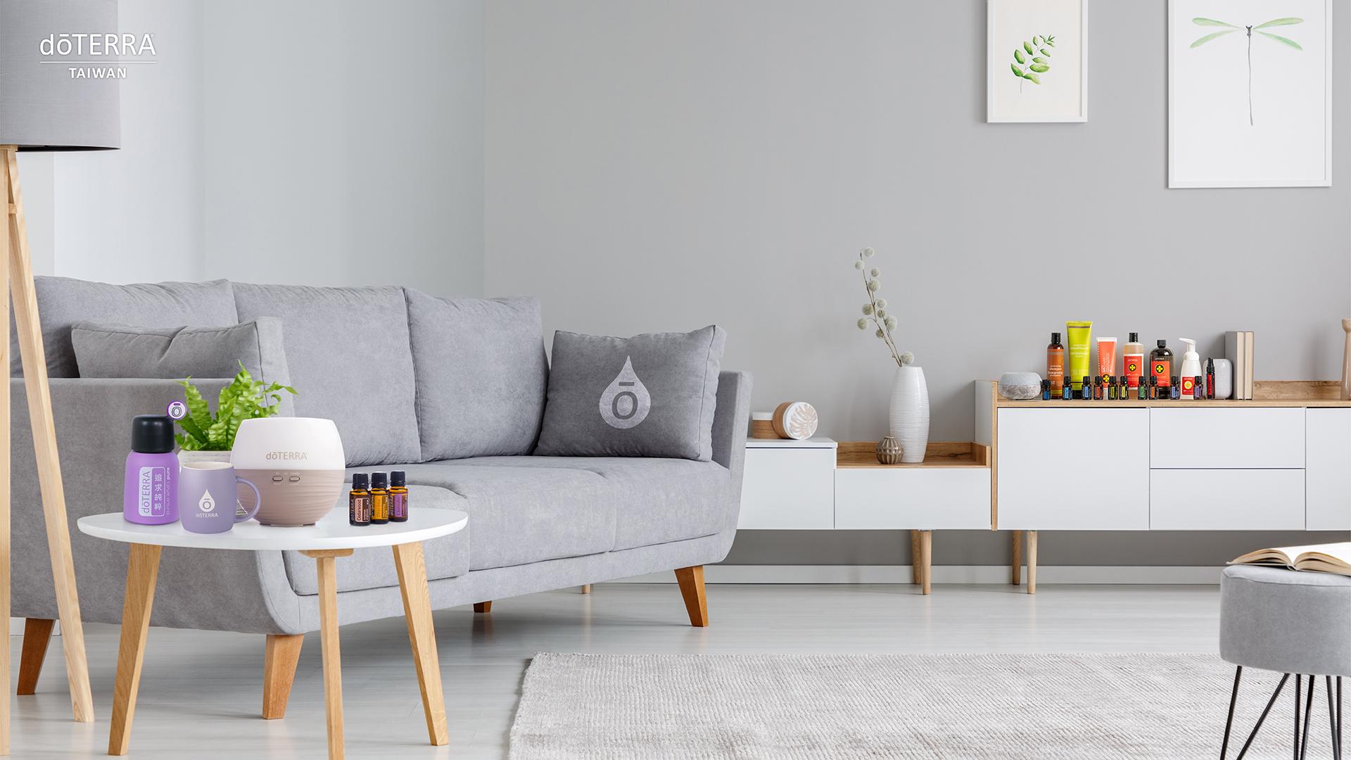 恬靜舒適的客廳空間