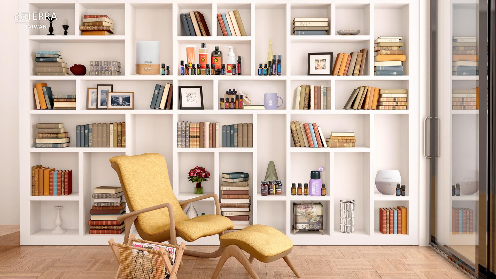 簡約時尚的質感書房