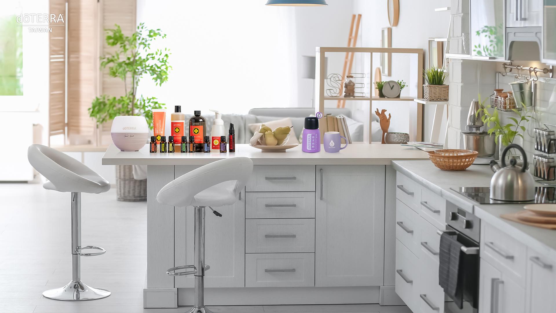 溫馨風格的幸福廚房
