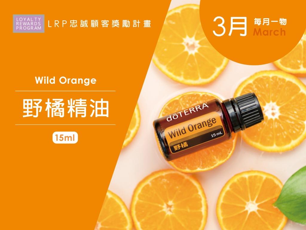 3月每月一物 野橘精油 15ml