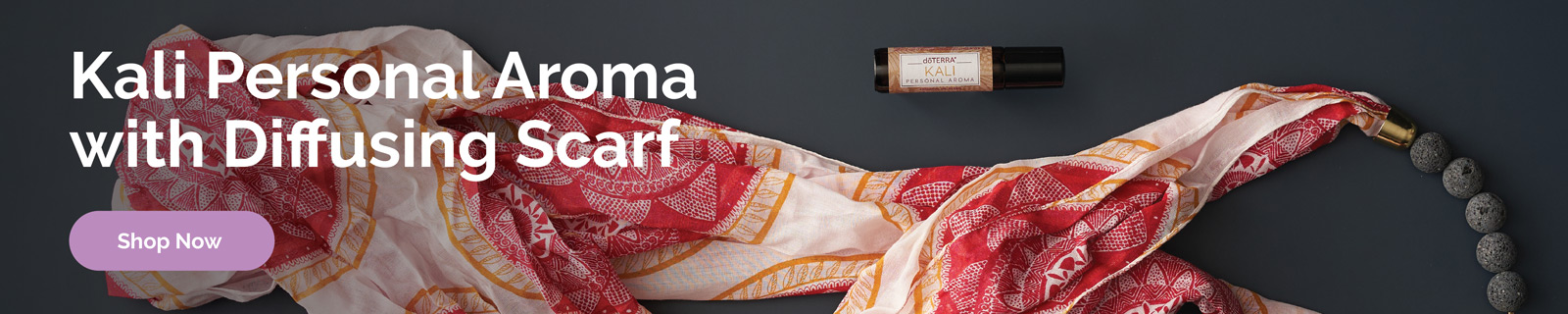 Check out the Kali India Inspired Personal Aroma with Diffusing Scarf here.