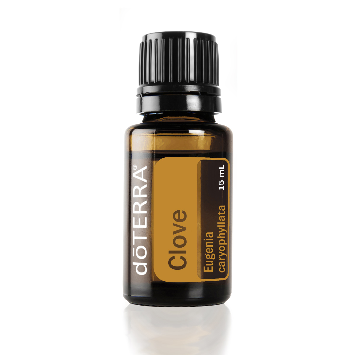 Bottle of doTERRA Clove oil. What is Clove oil used for? Clove essential oil is commonly used to help clean the teeth and gums.