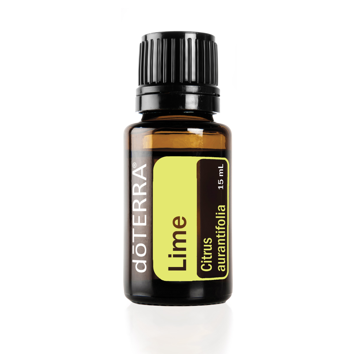 Bottle of doTERRA Lime oil. What is Lime oil used for? Lime essential oil is used for household cleaning, skincare, internal health benefits, and to uplift the mood.