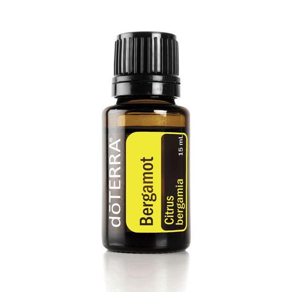 Bottle of doTERRA Bergamot essential oil. How do you use bergamot oil? There are many ways to use bergamot oil. Bergamot essential oil can be used on the skin, to add flavor to food, for better sleep, to lessen tension, and more.