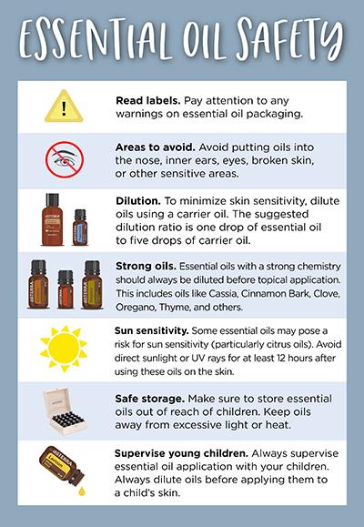 Essential Oil Safety Dōterra Essential Oils