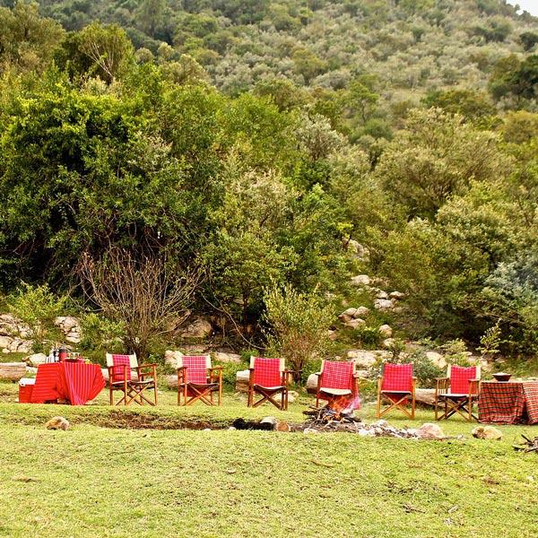 Kenya Mara Training Centre Outdoor Campfire