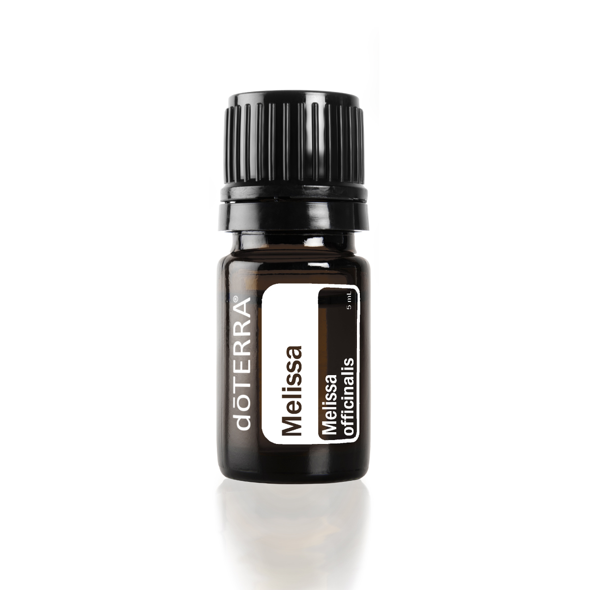 Bottle of doTERRA Melissa oil. What is Melissa essential oil used for? Melissa oil can be used to support a healthy immune system, calm tension and nerves, and promote a relaxing atmosphere.
