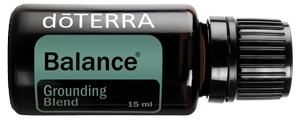 doTERRA Balance Essential Oil comes in the Healthy Essentials starter Kit