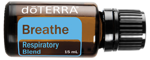 doTERRA Breathe Essential Oil comes in the Healthy Essentials starter Kit