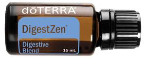 doTERRA DigestZen Essential Oil comes in the Healthy Essentials starter Kit