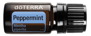 doTERRA Peppermint Essential Oil comes in the Healthy Start Kit