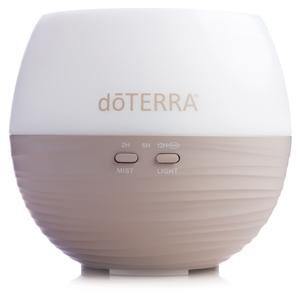 doTERRA Petal Diffuser comes in the Healthy Essentials starter Kit