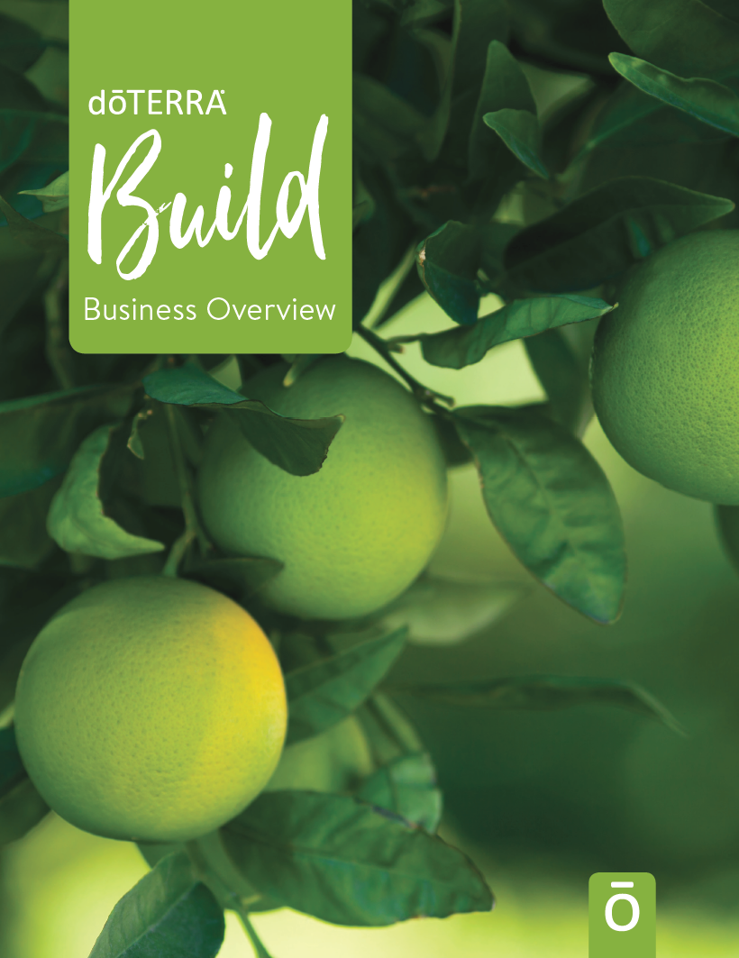 Build your doTERRA Business with the Build Guide