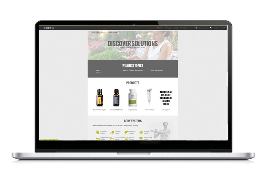 Explore doTERRA Discover Solutions