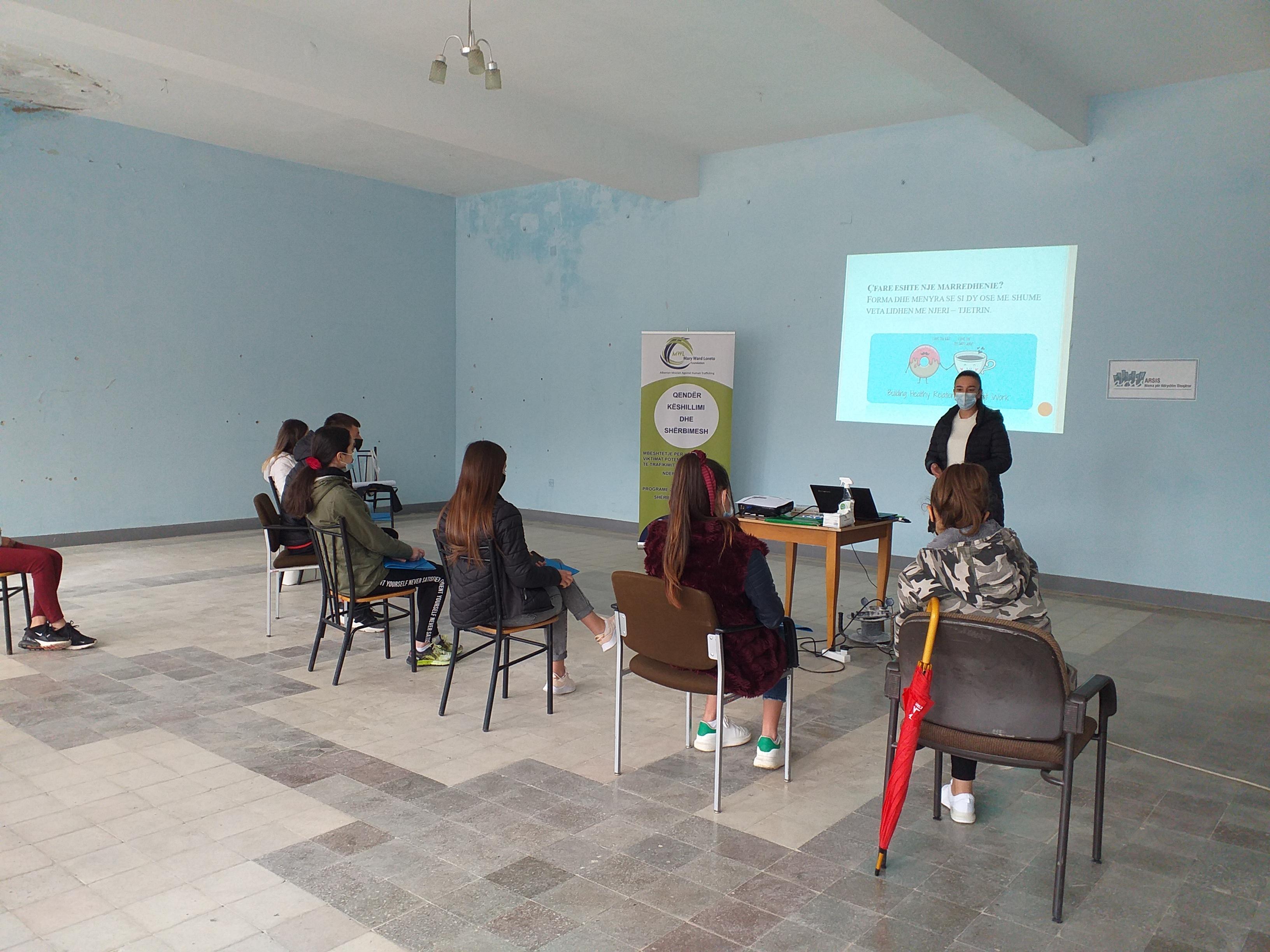 Classroom in Albania