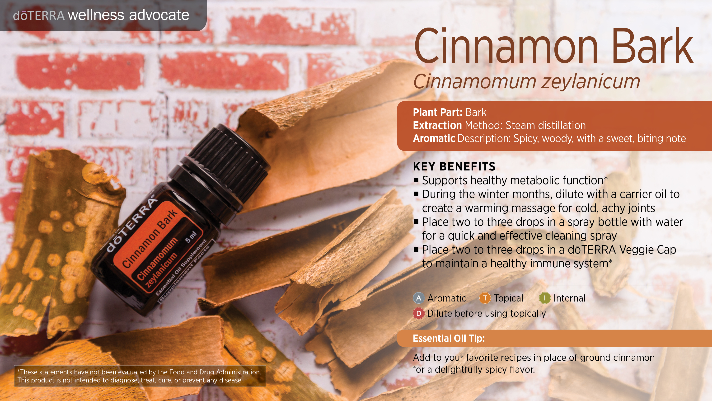 Cinnamon bark oil dterra essential oils primary benefits forumfinder Gallery