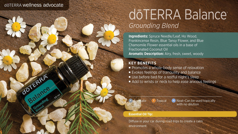 Doterra Balance Grounding Blend Dōterra Essential Oils
