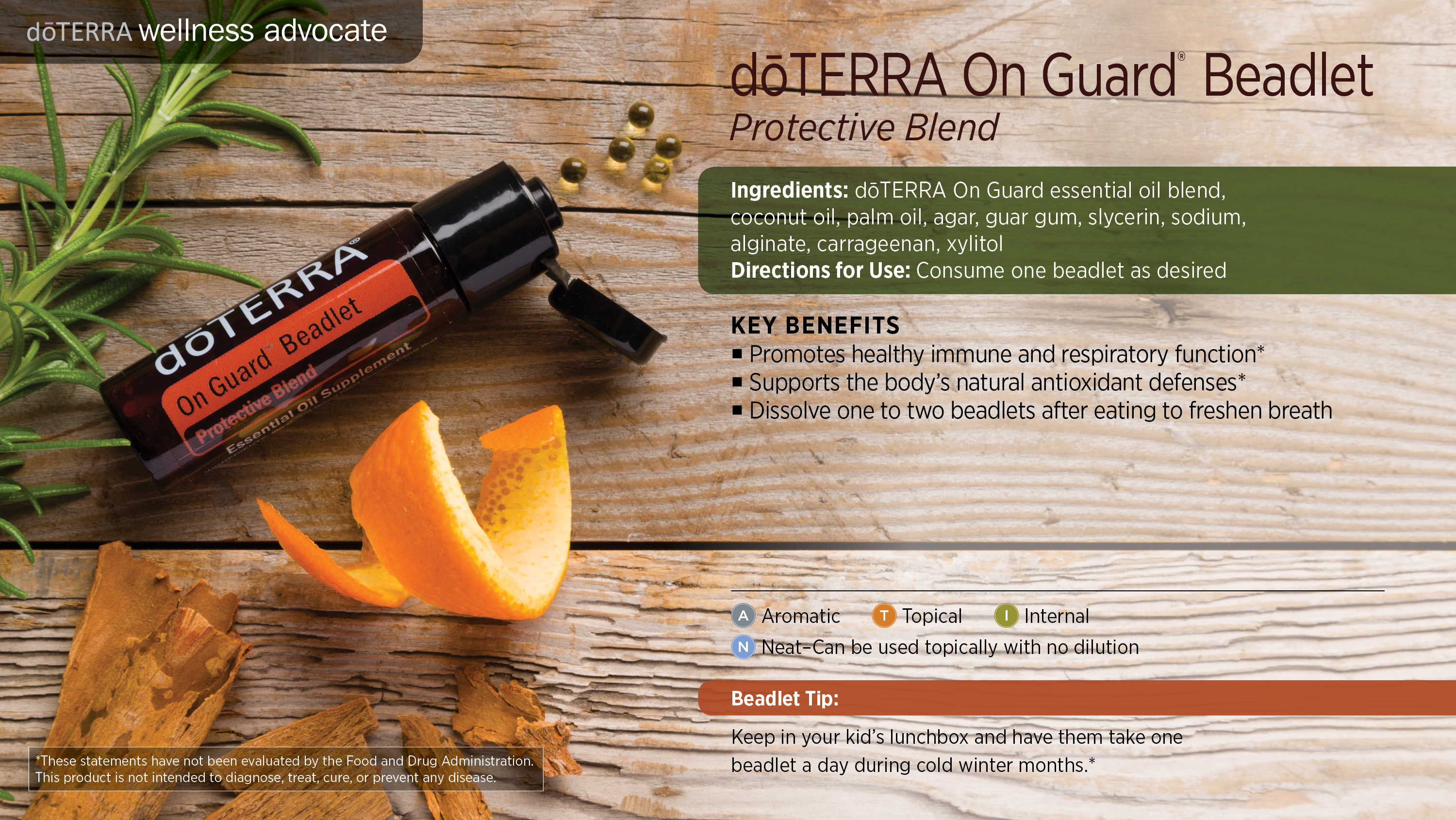Doterra On Guard Beadlets Dterra Essential Oils