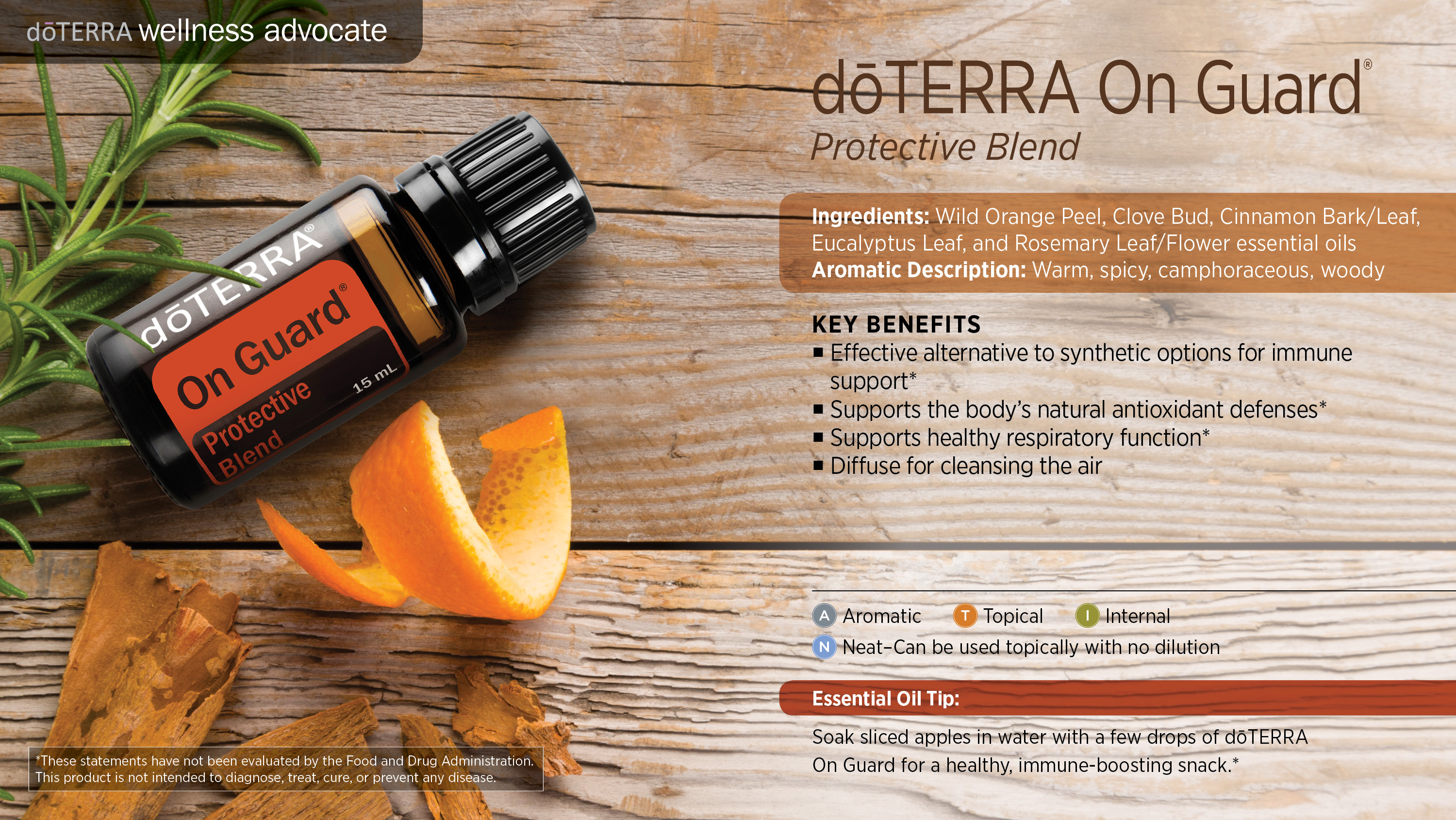 Doterra On Guard Protective Blend Dterra Essential Oils