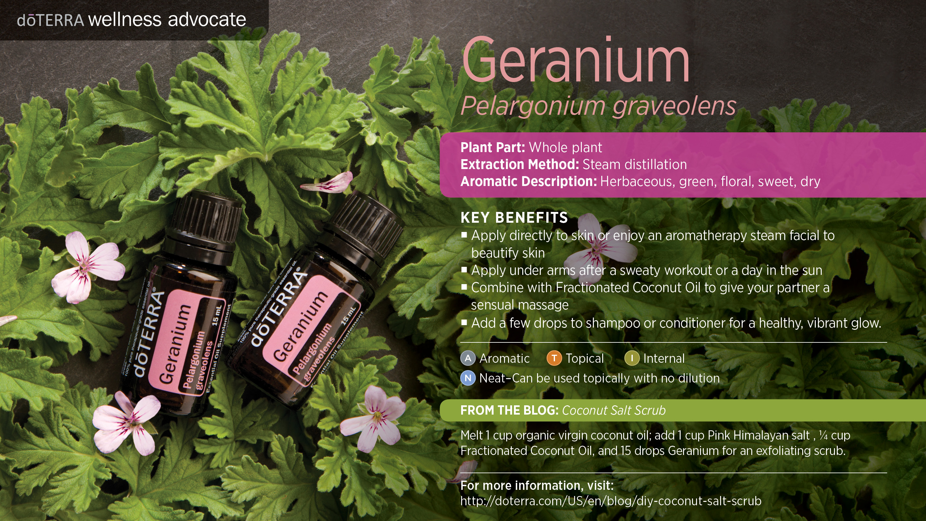 Geranium for Prani glow Purity Facial Ritual - Lymphatic facial massage