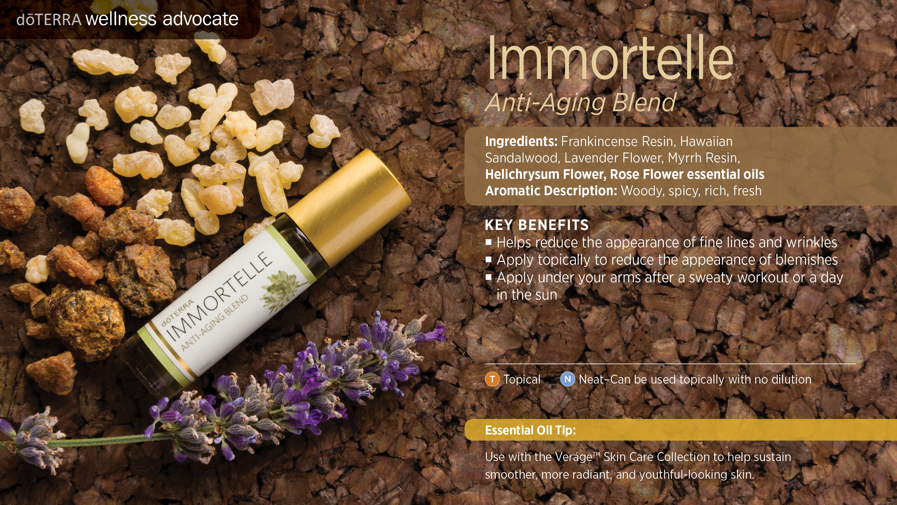 Doterra Immortelle Anti Aging Blend Uses Best Essential Oils